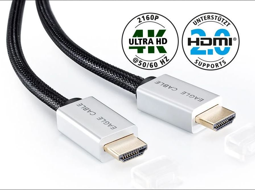 EagleCable • DELUXE  HDMI Ethernet 0,75m